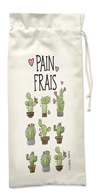 Le sac à pain cactus!